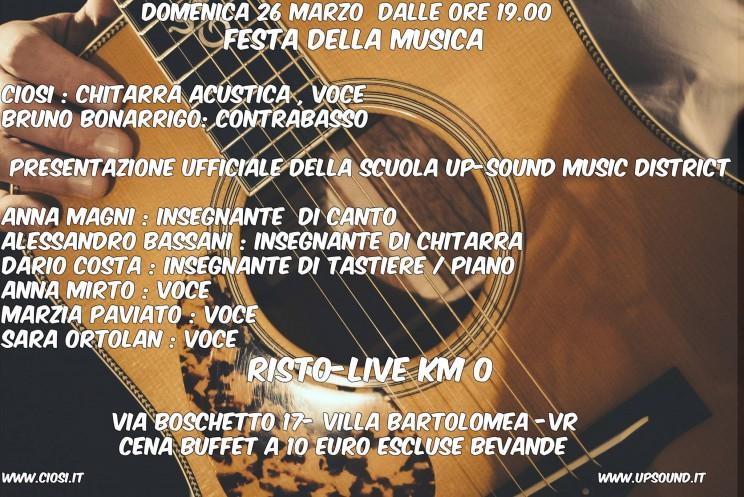 [:it]ciosi & festa della musica [:] @ km 0  | Villa Bartolomea | Veneto | Italia